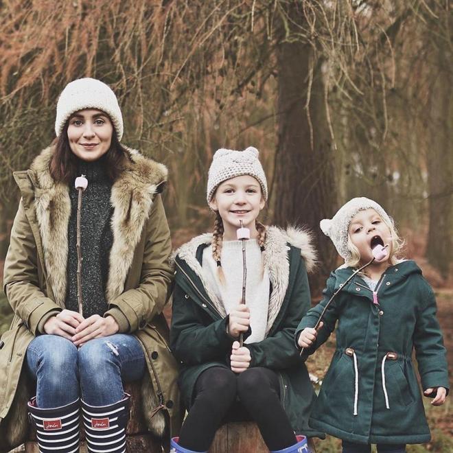 攝影 | 有兩個孩子的母親給自己和女兒們拍了一些可愛的照片