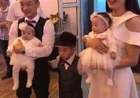 楊陽洋抱妹妹太溫馨!楊威楊云為雙胞胎女兒慶生
