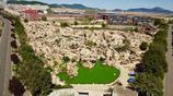 大連一地產商開發房子,挖出了一個絕美的奇石公園,有上億年曆史