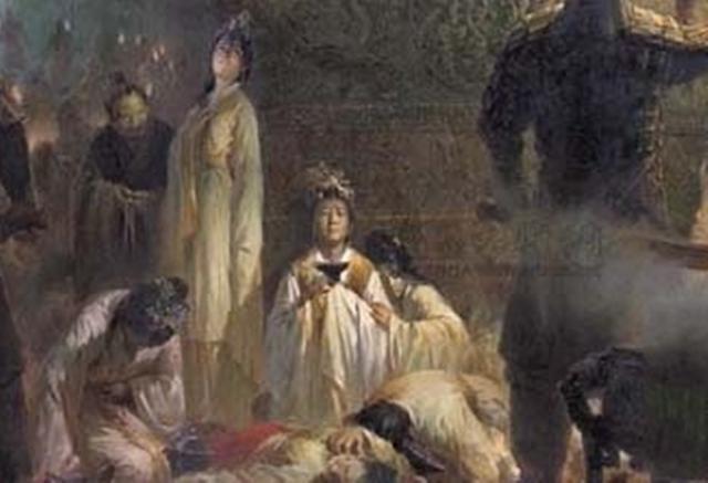 一代才女卻被迫殉葬,死前留下一首詩,看後,太監們都哭了