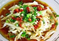 精選美食推薦:剁椒肉末毛豆,蔥油牛百葉,玉米番茄豬肝湯的做法