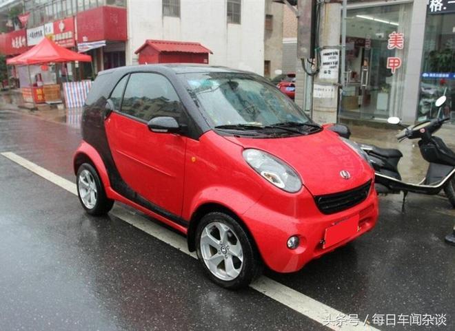 花8千買輛國產微型轎車,欲花2千改裝奔成馳smart,開出去有面子