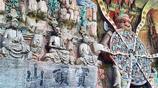 重慶石窟供奉世界唯一千手觀音 七級寶塔竟懸空千年未掉落!