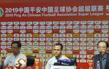 山東魯能助教法比奧代替李霄鵬出席中超第五輪的賽前發佈會