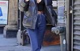 LA娛樂|英國超模艾米麗·拉塔科夫斯基,漫步紐約街頭