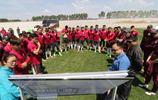 長春亞泰足球俱樂部亞泰新基地國際標準球場迎接球隊首次訓練