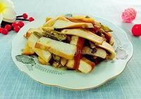 蒲海椒炒豆乾