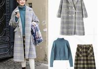 適合小個子女生冬季日常穿搭,毛衣搭配半身裙優雅顯高,美膩了