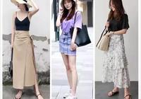 夏日穿搭標配:T恤、半裙、小白鞋,怎麼穿都不會出錯