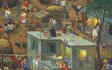 舊時宣傳畫:一村人就等於一家人,最火群發請全體村民到村委開會