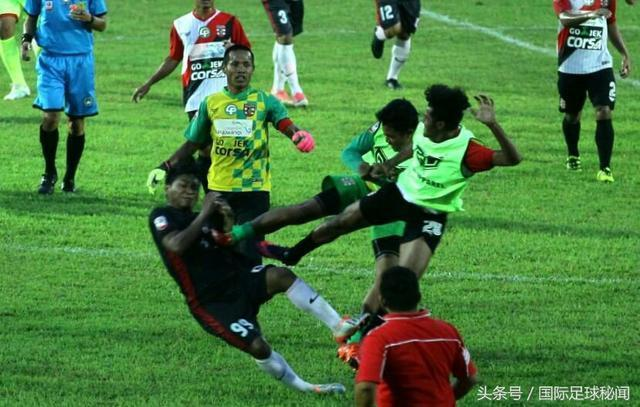 """印尼足球亂象:""""功夫足球""""世界第一"""