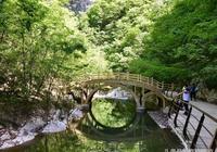 金絲峽嶂橋在訴說(胡金鑫)
