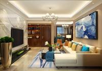 40歲男人最愛的新中式風格,112平米的空間被利用到了極致