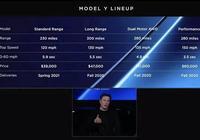 Model Y發佈,售價3.9萬美元,續航近500公里,性能讓國產車臉紅
