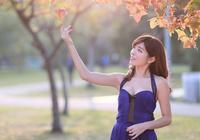 花兒攝影:秋葉澄淨,煙雨搖曳