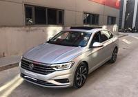 全新2019款大眾速騰實車現身銀灰色車 150馬力配1.4T