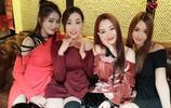 李小璐晒美照同框馬蘇秦嵐等5姐妹 網友:都是美少女,性感美豔!