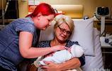 47歲母親為幫患病女兒圓了生子夢,幫其代孕生下健康寶寶