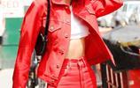 肯達爾·詹娜現身紐約街頭 鮮豔似火 酷感十足 魅力難擋