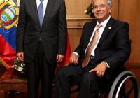 習近平主席特使陳寶生出席厄瓜多爾總統權力交接儀式