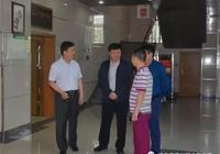 延安大學附屬醫院院長李小龍來我院參觀考察