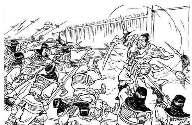 三國連環畫528:張繡大軍殺死典韋,射殺曹操長子曹昂,曹操懵逼
