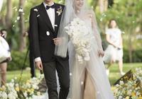 楊子姍&吳中天三亞再辦婚禮答謝Party,畫風浪漫如畫,證婚人趙薇卻意外搶鏡!