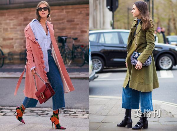 藏肉又帥氣的牛仔闊腿褲,今年秋冬你想怎麼搭配呢?