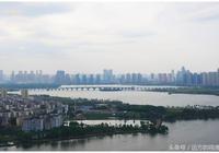 武漢漢陽,美麗的墨水湖綠道鳥瞰
