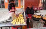"""山西霍州美食小吃""""油炸糕"""",百米街頭5家賣,家家價格不一樣"""