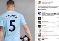 斯通斯改穿5號球衣,曾在埃弗頓使用此號碼