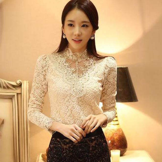 適合30歲-45歲女人新款蕾絲衫,性感減齡,輕鬆穿出少女味