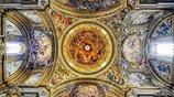攝影:意大利羅馬教堂天花板攝影作品欣賞