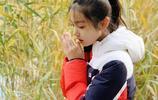 11歲童星張籽沐,被天使親過的臉龐,我等你長大
