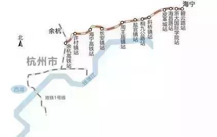 好消息!杭州4條城際線全面開工,新規劃中還要增加4條路線