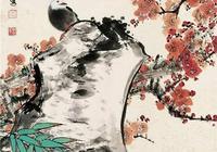 現代工筆花鳥畫名家,田世光先生梅花作品欣賞