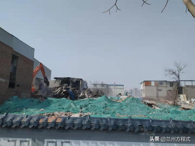 甘肅科技館北側棚戶拆遷接近尾聲  或成蘭州安寧新的價值窪地