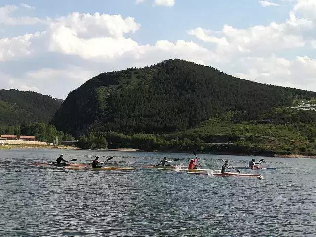 國家皮划艇隊員來赤峰訓練了!