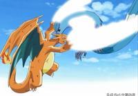 神奇寶貝:小智噴火龍巔峰之戰,力壓神獸急凍鳥獲得徽章!