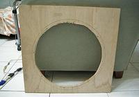 採用JBL 2241喇叭單元DIY的低音炮