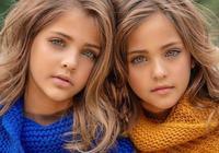 真正地贏在起跑線!9歲小姐妹獲贊全球最美雙胞胎,十幾家品牌搶破頭請她們代言