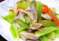 """""""炒""""出健康美味來 營養美味的家常小炒 二 萵筍炒牛肉"""
