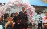 實拍河南農村結婚現場,婚禮儀式成親友團走秀