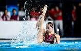 國際泳聯花樣游泳世界系列賽(中國站)在北京舉行