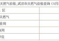 天然氣價格最新消息:5月11日武漢天然氣價格 武漢天然氣如何收費?