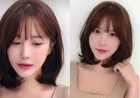 2019女生流行髮型,7款帶劉海的鎖骨發