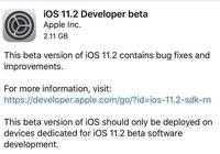 國人專屬!蘋果更新iOS 11.2測試版:變化太大,網友直接無語!
