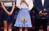 上海電影節《閃光少女》見面會 徐璐扎丸子頭玩小清新
