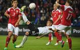 足球——友誼賽:丹麥平德國