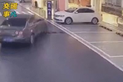 """「一組動圖警示你」:有種事故叫做""""奪命""""地下停車場"""